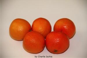 Clementinen der Sorte Clemenrubi